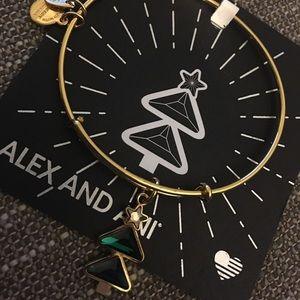 Alex and Ani Christmas Tree Bracelet  2018